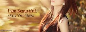 I am Beautiful Facebook Cover Photo For Girls
