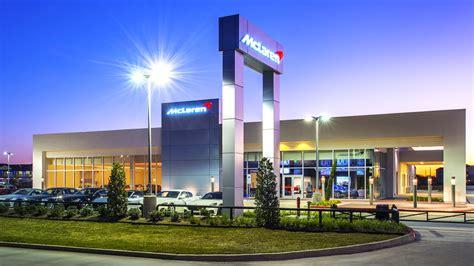 McLaren Car Dealership | O'Donnell/Snider Construction