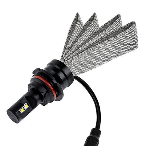 motorcycle led headlight conversion kit 9007 led