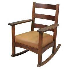 l and j g stickley rocker at 1stdibs