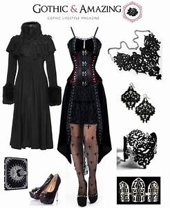 Sophisticated Goth Outfit - Styling tips by Gothic and Amazing