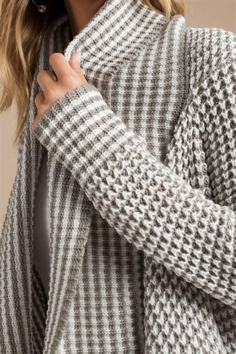 Grey Draped Cardigan - light grey white cardigan blue cardigan draped
