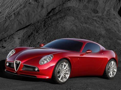 Alfa Romeo 8c Competizione Concept  Side Angle