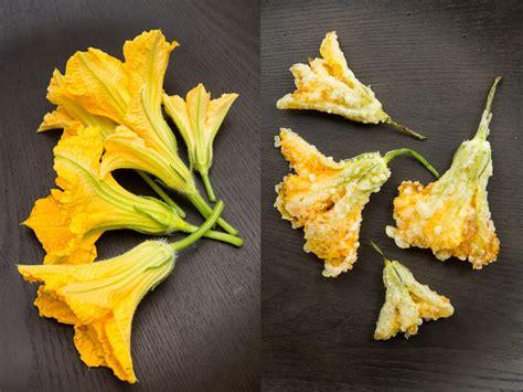 cuisiner la courgette recette de la tempura de fleurs de courgette vegan et pas