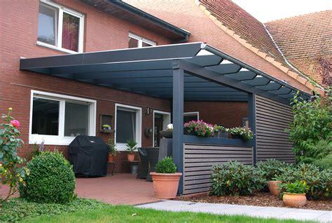 überdachung Terrasse Holz Glas by Sichtschutz Terrasse Holz Und Glas