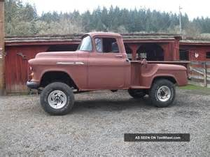 1955 Chevy Short Box Pickups