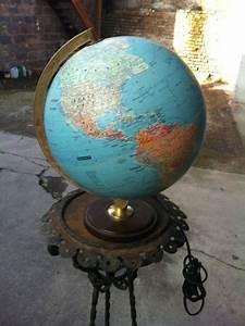 Lampe Globe Terrestre : lampe globe terrestre michelin mappe monde ebay id es d co pinterest globe ~ Teatrodelosmanantiales.com Idées de Décoration