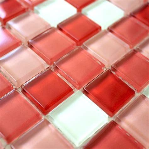 carreaux ciment cuisine mosaique verre crédence cuisine verre mosaïque mix