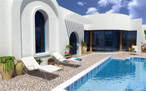 plan de maison plain pied 5 chambres vente djerba tunisie maison neuve avec piscine vente