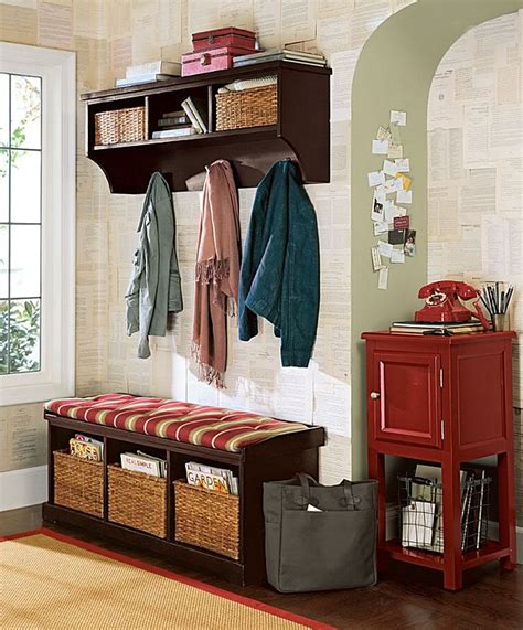 Foyer Storage Ideas by Best Ideas For Entryway Storage