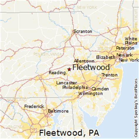 places    fleetwood pennsylvania