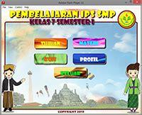 contoh media pembelajaran  cd interaktif game