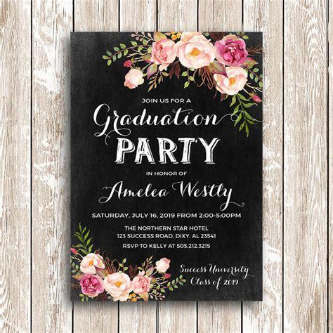 19+ Graduation Party Invitation Designs PSD AI Word