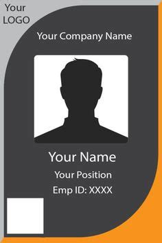 id card template images id card template card