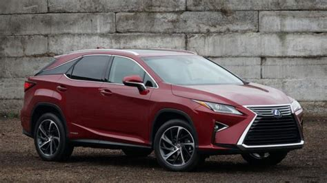 lexus rx  redesign review release date  suv
