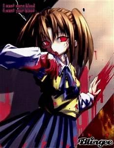 Evil anime girl Picture #100696586 | Blingee.com