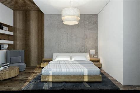 habillage mur pour la chambre  coucher en  idees