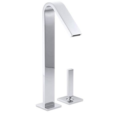 kohler loure freestanding tub filler shop kohler loure polished chrome 1 handle 2