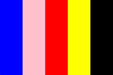 power rangers color palette