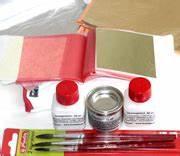 Blattgold Anlegemilch Anleitung : vergoldersets startersets vergolden versilbern ~ Lizthompson.info Haus und Dekorationen