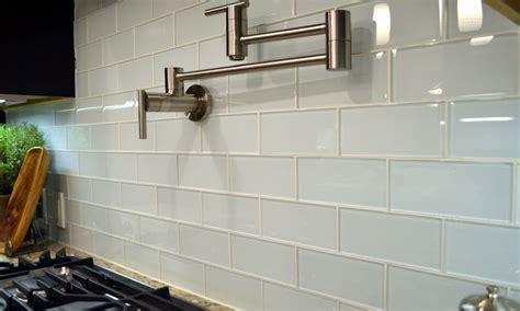 Glazed Ceramic Wall Tile White Glass Subway Tile