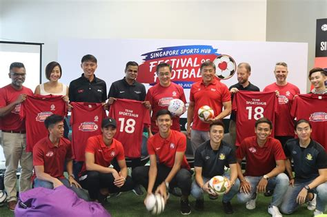 Odds, match details, lineups, statistics, standings. Efforts to boost local football pledged ahead of Singapore Football Festival - ActiveSG