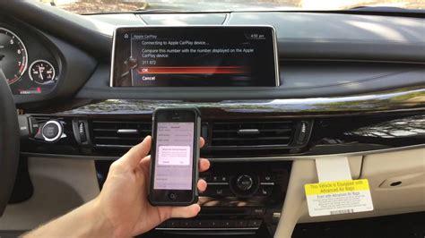 Apple Carplay Tutorial For The 2017 Bmw X5