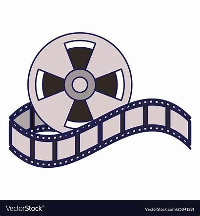 Reel Cinema Cartoon Equipment Movie Lines Bobina