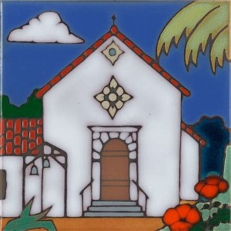 california missions all products pacific blue tile original painted ceramic and