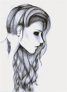 Drawing Of A Sad Girl Tumblr Sad Girl Tumblr Sketch Girl ...