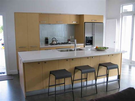 one wall kitchen with island designs one wall kitchen designs vissbiz
