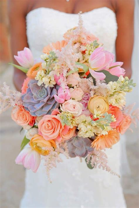 10 trendy wedding bouquets for 2015 pollennation