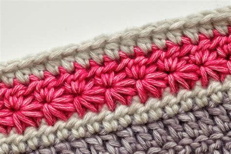 crochet tutorial star stitch merino tomatoes