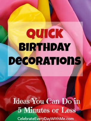 office table decoration ideas birthday decorations celebrate every day with me