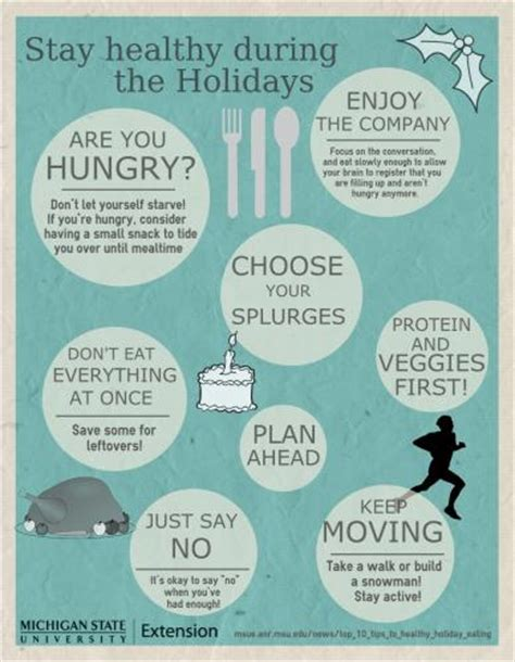 10 #tips To Stay #healthy During The #holidays Nutrition