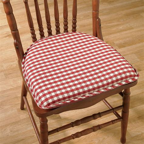 gingham chair pad gallery
