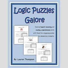 Logic Puzzles Galore  Reading Comprehension & Critical Thinking Activities Models