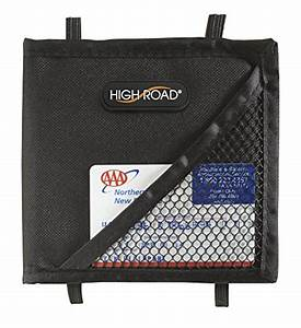 car visor registration wallet vehicle auto document holder With car insurance document holder