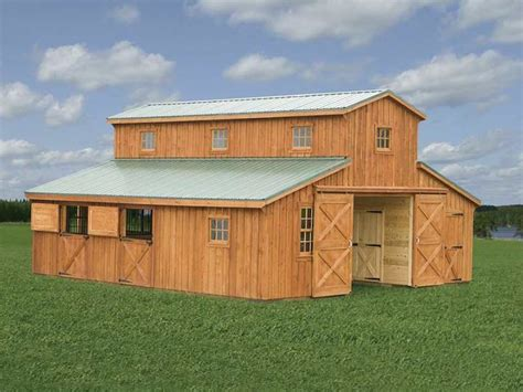 Horse Barn Prices And Plans