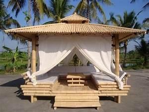 Tonnelle En Bambou : construire une tonnelle en bois bing images jardins ~ Premium-room.com Idées de Décoration