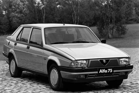 Alfa Romeo 75 Specs & Photos  1985, 1986, 1987, 1988