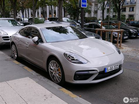 Crayon-colored 2017 Porsche Panamera Turbo Spotted On