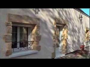 Parement Pierre Extérieure : pierre de parement pour isolation thermique ext rieure ite youtube ~ Melissatoandfro.com Idées de Décoration