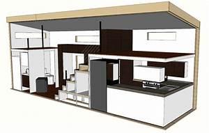 Tiny House Bauplan : modern tiny house on wheels concept and plan tiny houses ~ Orissabook.com Haus und Dekorationen