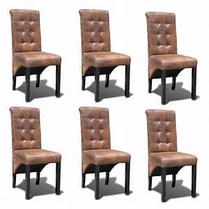 Chaise En Solde : la boutique en ligne chaise de salle manger 6 pcs ~ Teatrodelosmanantiales.com Idées de Décoration