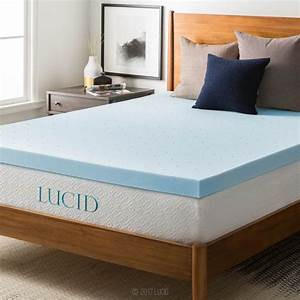 Top 10 best memory foam mattress topper reviews 2018 guide for Best mattress pad for foam mattress