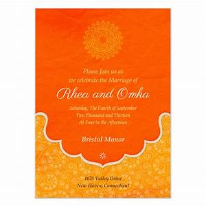 Indian wedding blessings invitations cards on pinggcom for Indian e wedding invitation templates
