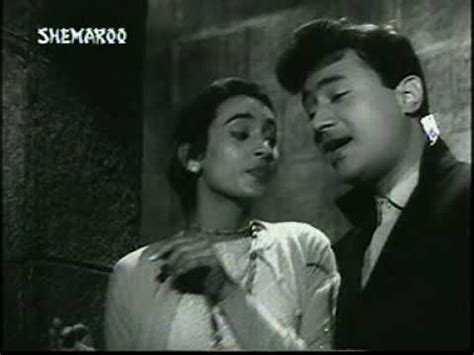 jaane kahan mera jigar actress dil ka bhanwar kare pukar tere ghar ke samne dev anand