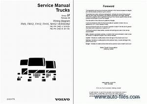 Volvo Fm7  9  10  12  Fh12  16  Nh12 Wiring Diagrams  Repair Manuals Download  Wiring Diagram