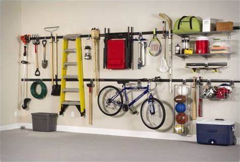 rubbermaid garage storage system garage organization ideas systems and tips